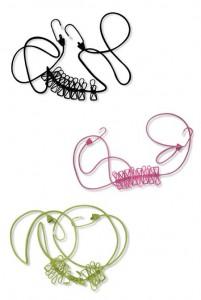 カラフルワイヤー ロープ&ピンチ 3色