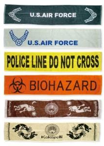 ロングタオル U.S.AIR FORCE CREAM