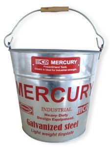 Mercury Bucket silver