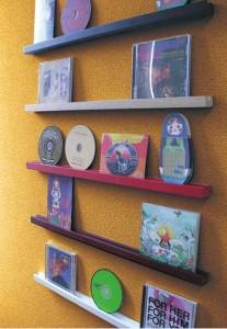 ポストカード&CDウォールスタンド 5色